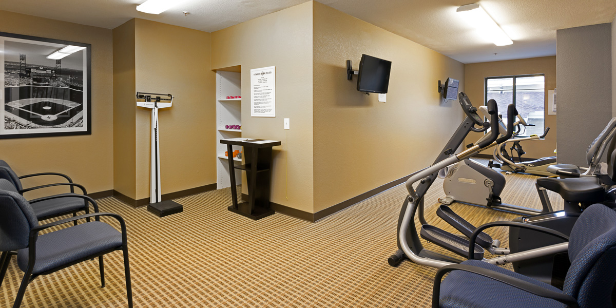Fitness center sterling court rental community for seniors in