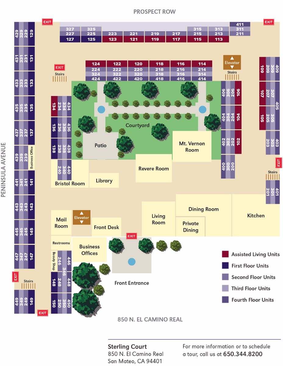 Sterling-Court-Site-Map
